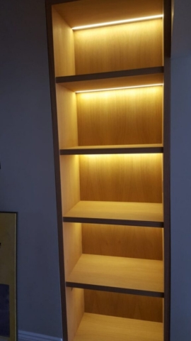 Richmond bookshelf with lights