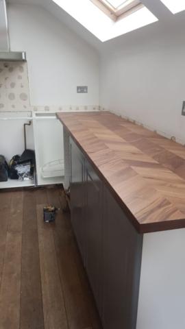 Richmond kitchen refurboshement