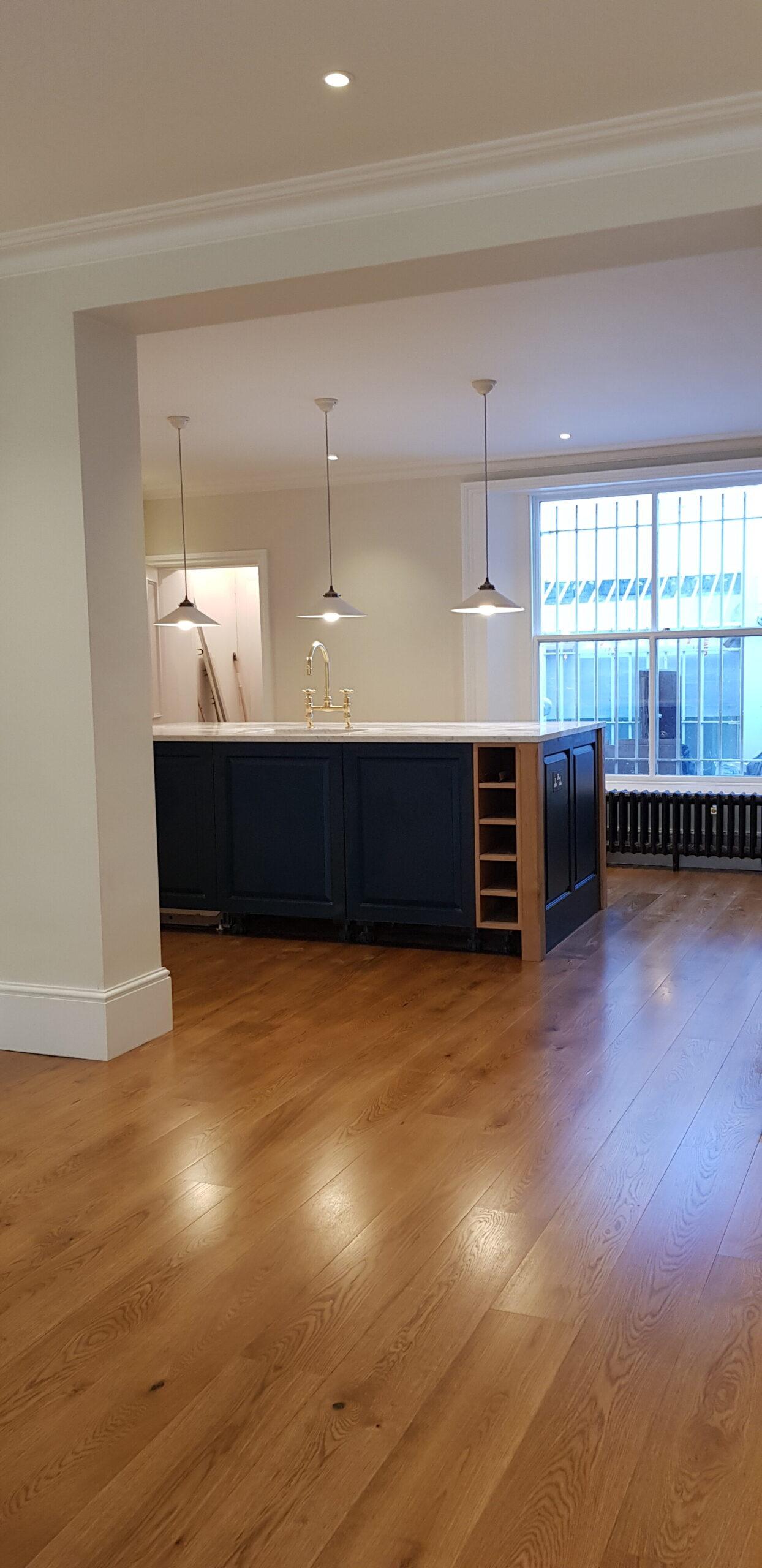 Hampton complete new kitchen design and build