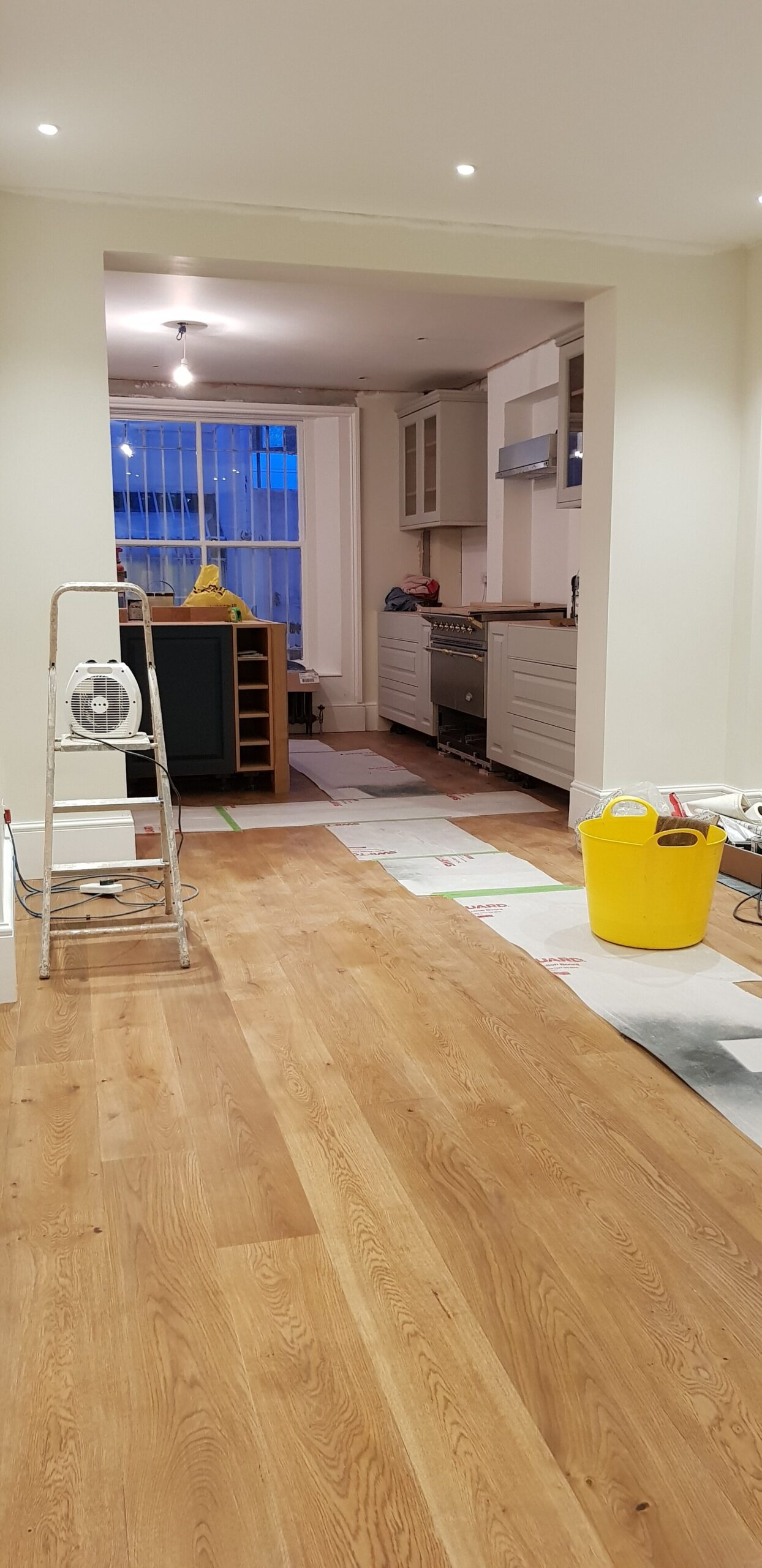 New dining room next to the kitchen