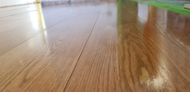 Richmond - fitting wooden floor